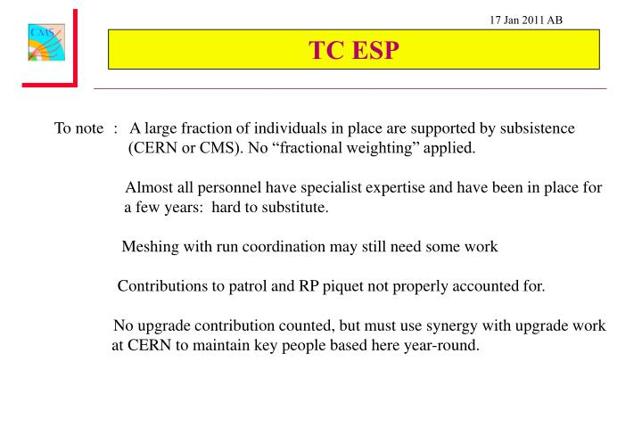 TC ESP