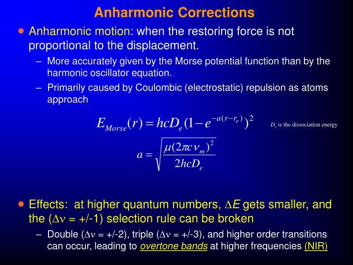 Anharmonic Corrections