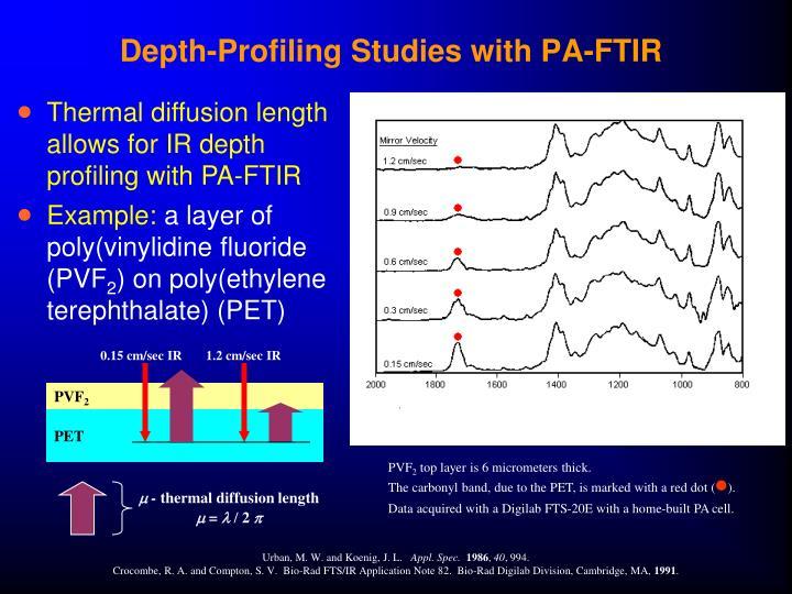 Depth-Profiling Studies with PA-FTIR