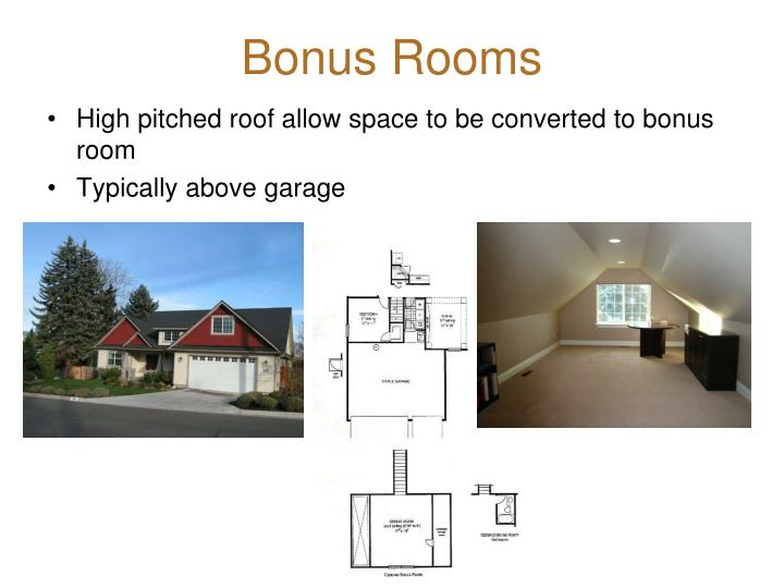 Bonus Rooms