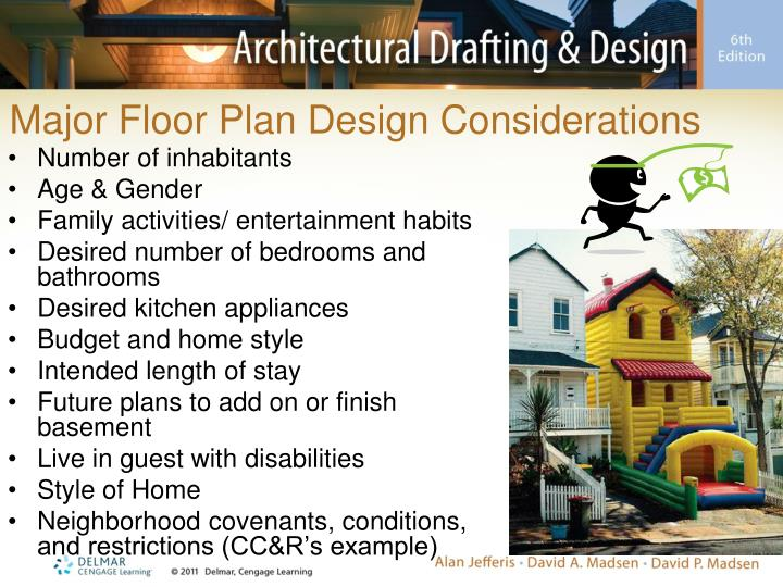 Major Floor Plan Design Considerations