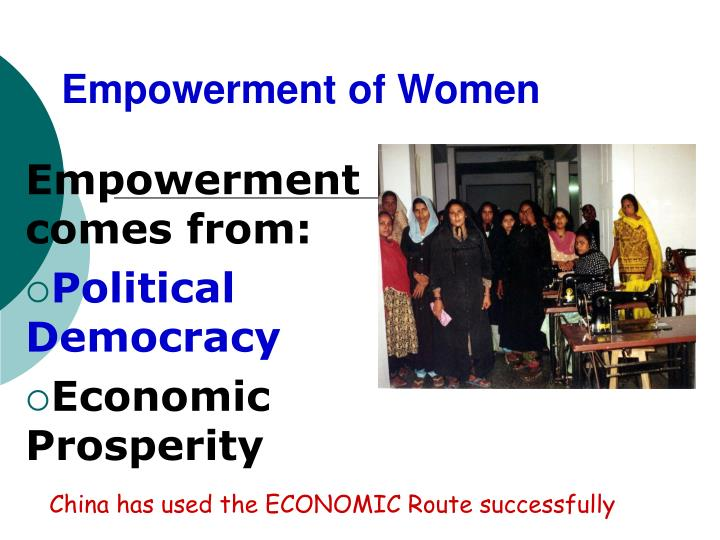 Empowerment of Women