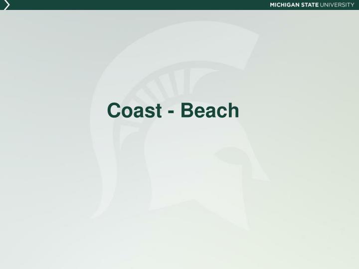 Coast - Beach
