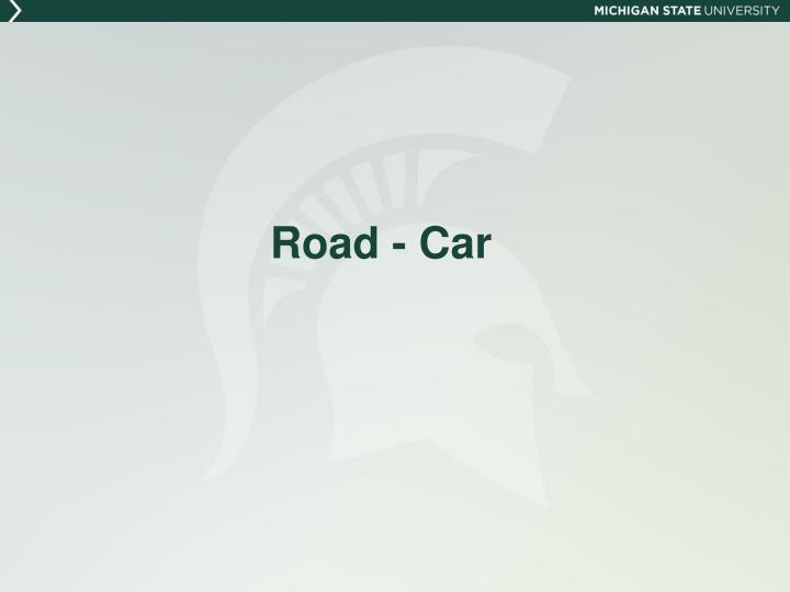 Road - Car