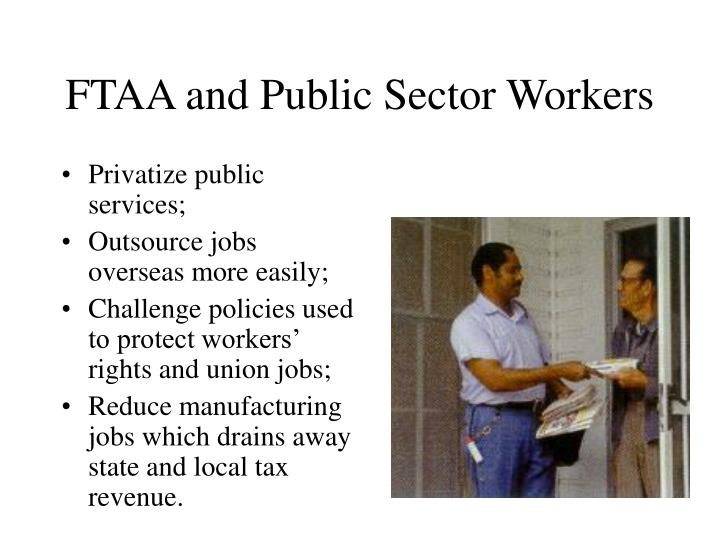 FTAA and Public Sector Workers
