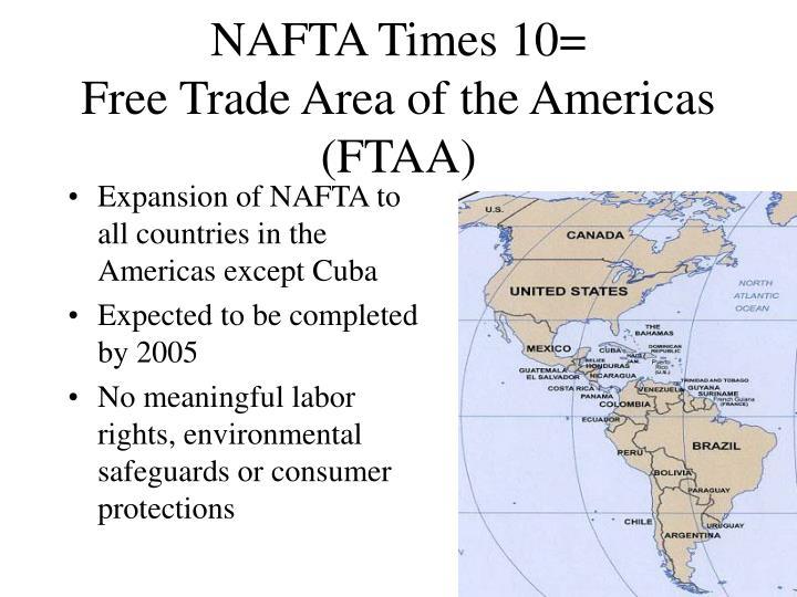 NAFTA Times 10=
