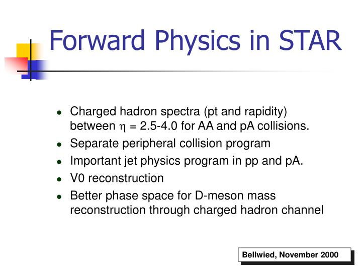 Forward Physics in STAR