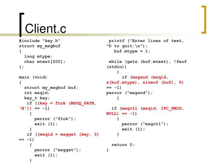 Client.c