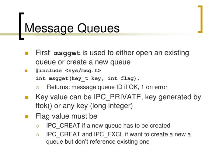 Message Queues