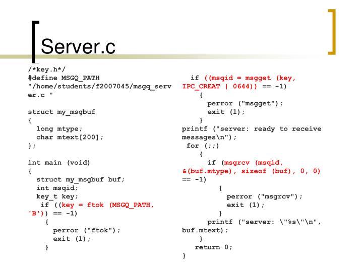 Server.c