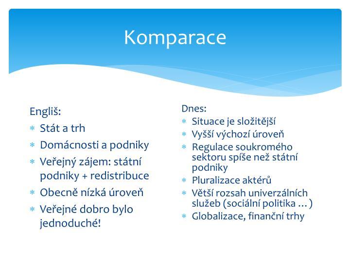 Komparace