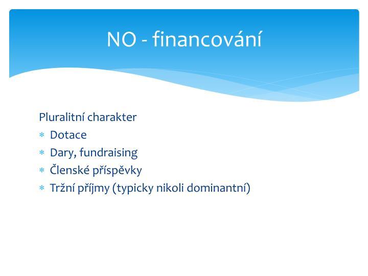 NO - financování