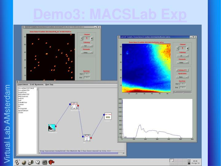 Demo3: MACSLab Exp
