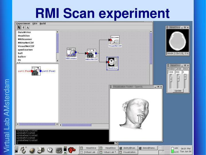 RMI Scan experiment