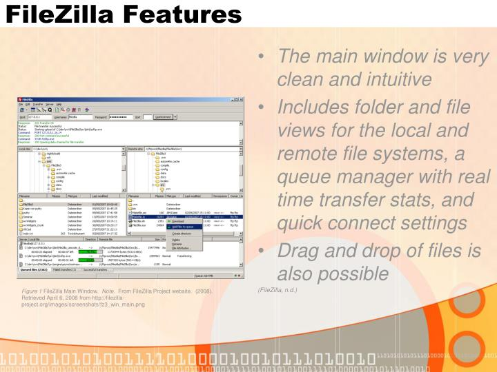 FileZilla Features