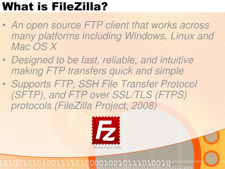 What is filezilla
