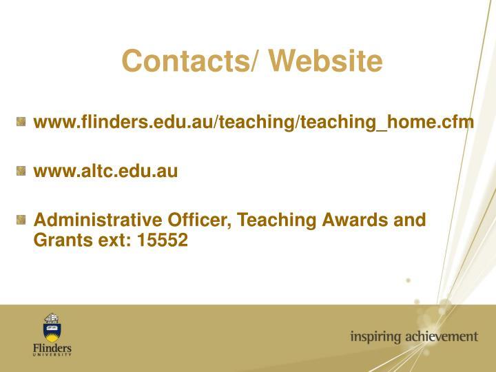 Contacts/ Website