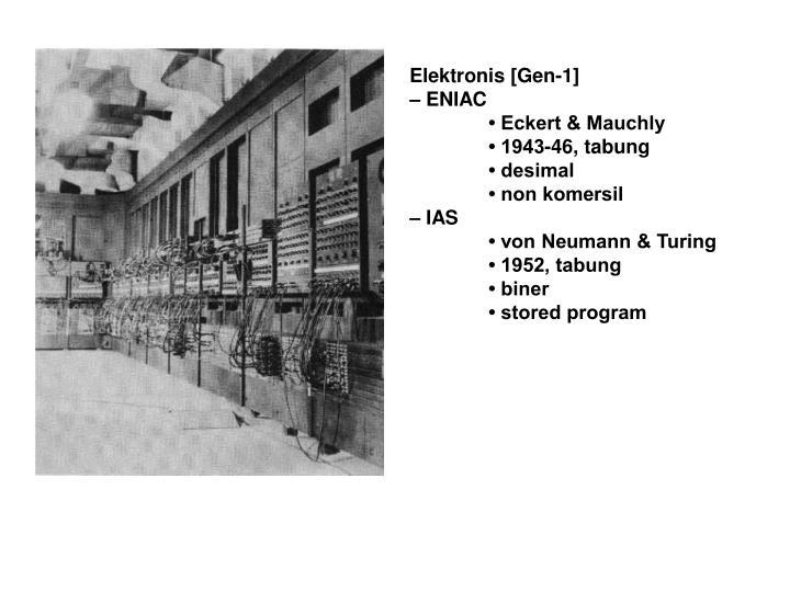 Elektronis [Gen-1]