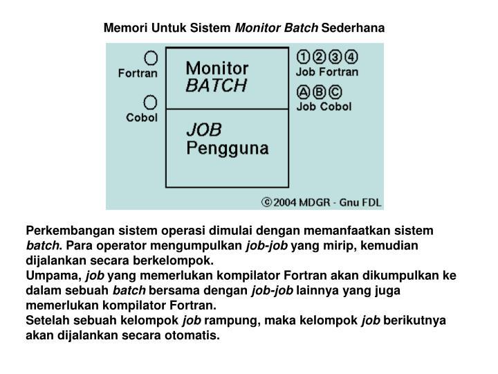 Memori Untuk Sistem