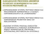 zarz dzanie procesem absorpcji funduszy europejskich na uam studium przypadku 3