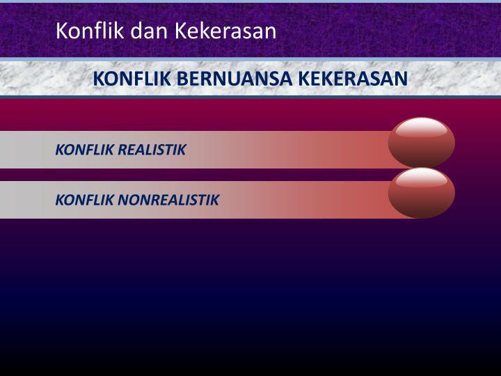 KONFLIK REALISTIK