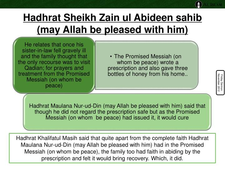Hadhrat Sheikh