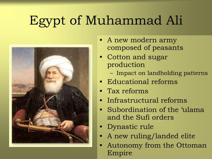 Egypt of Muhammad Ali