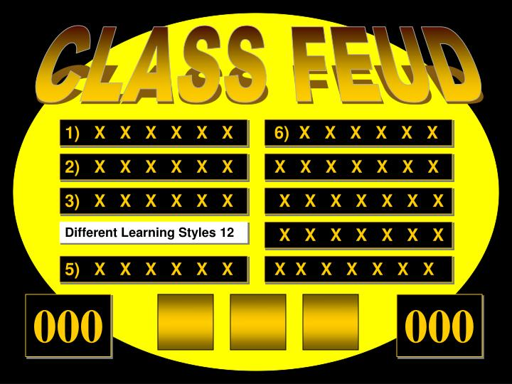 CLASS FEUD