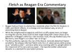 fletch as reagan era commentary