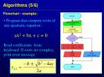 algorithms 5 6