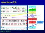 algorithms 6 6