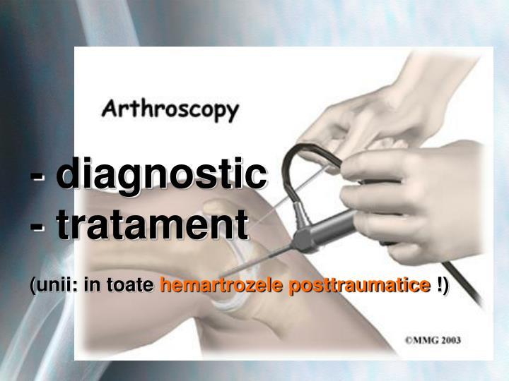 - diagnostic