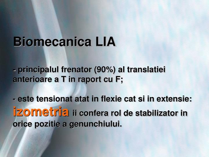 Biomecanica LIA