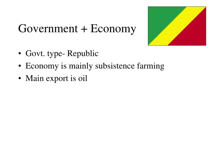 Government + Economy