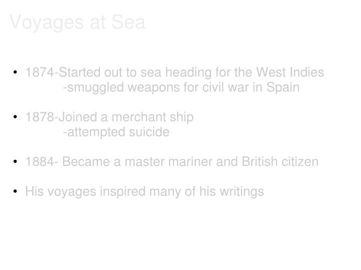 Voyages at Sea