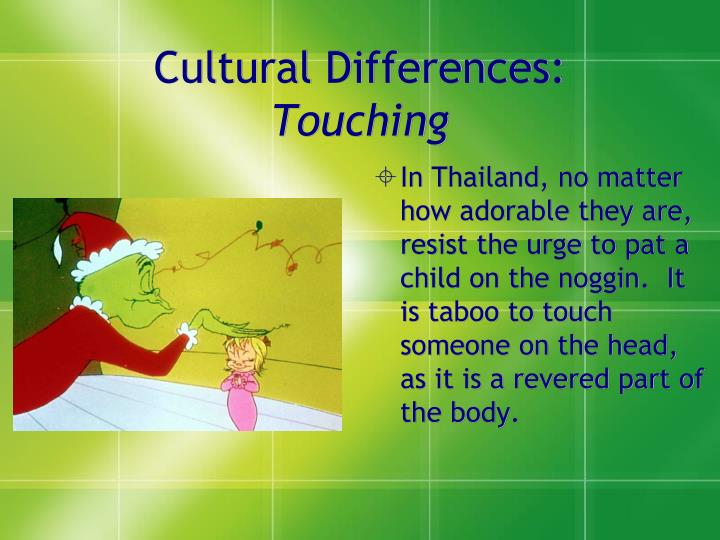 Cultural Differences: