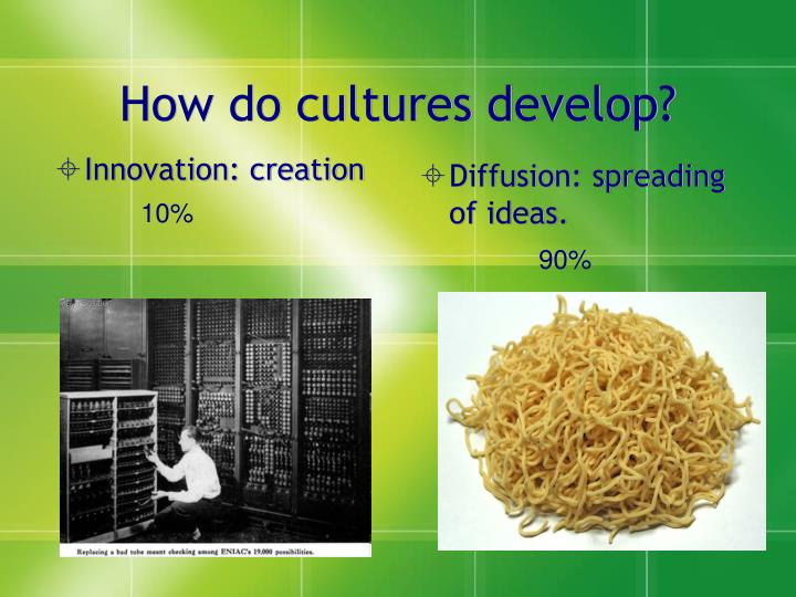Innovation: creation