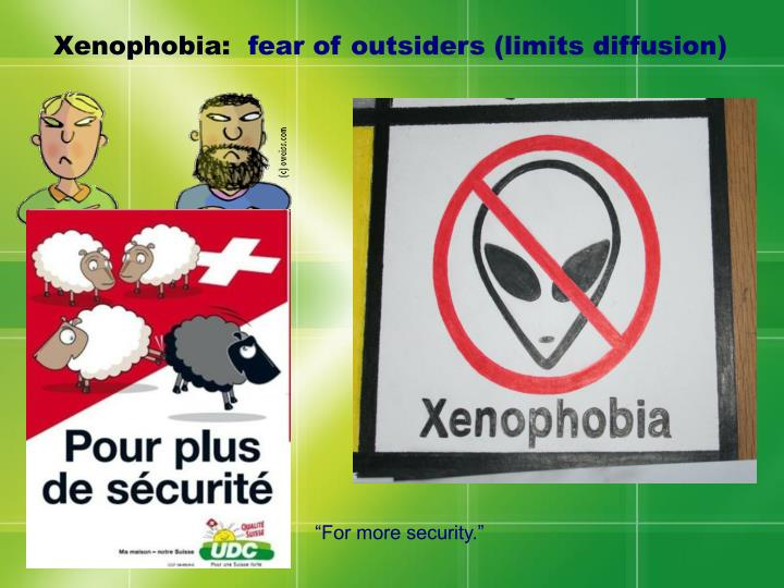 Xenophobia: