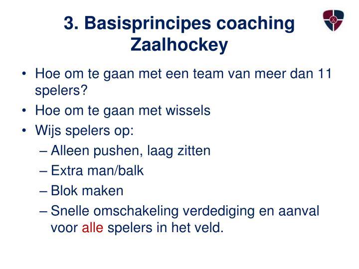 3. Basisprincipes coaching