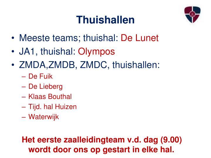 Thuishallen
