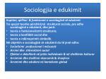 sociologjia e edukimit