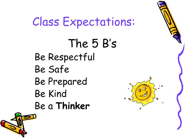 Class Expectations: