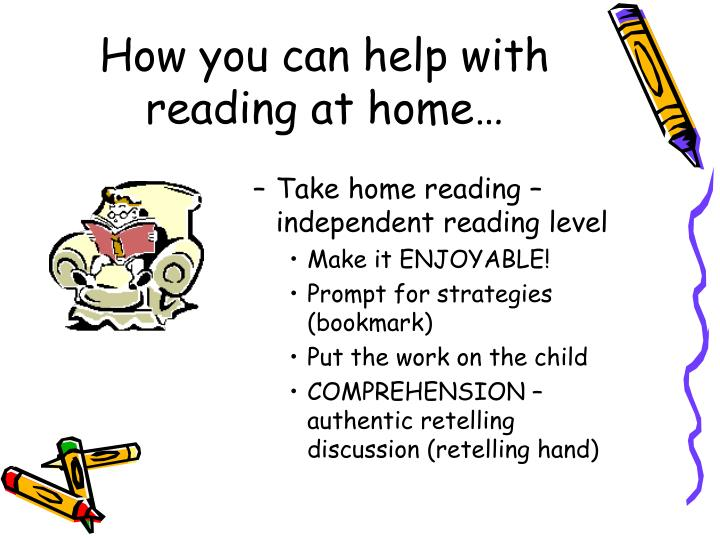 How you can help with reading at home…