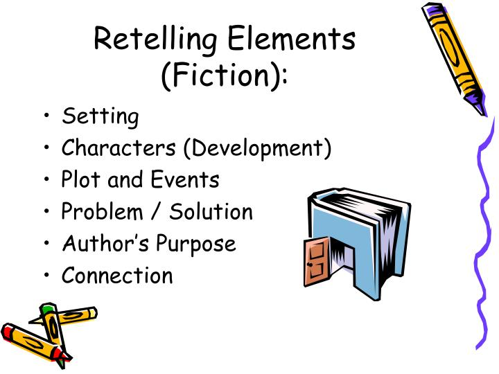 Retelling Elements (Fiction):