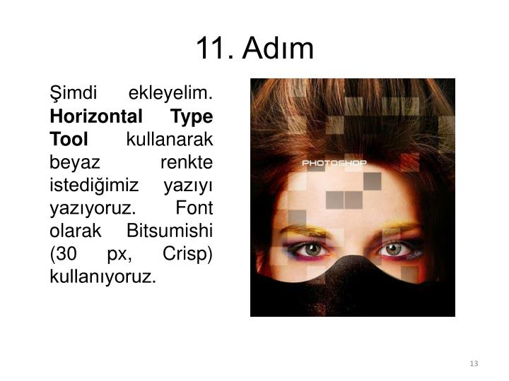 11. Adım