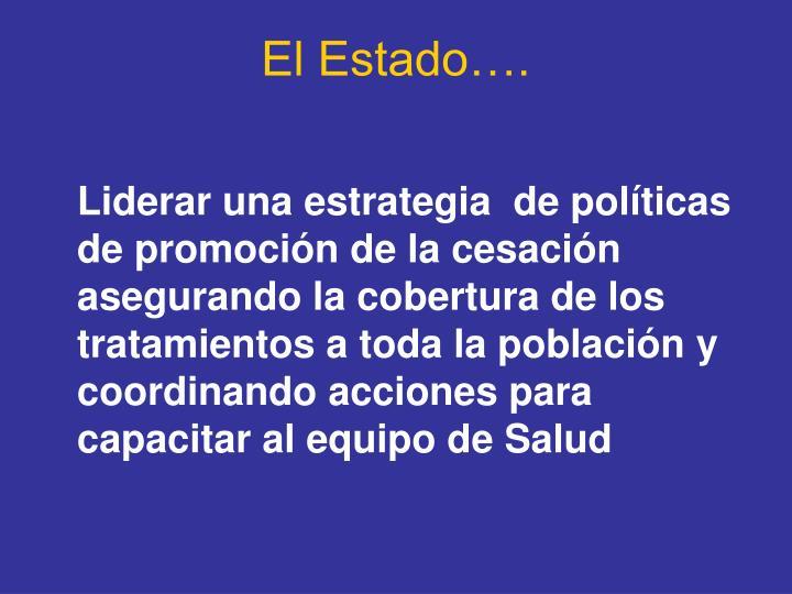 El Estado….