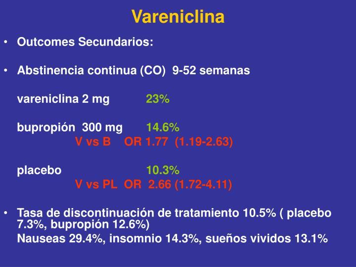Vareniclina