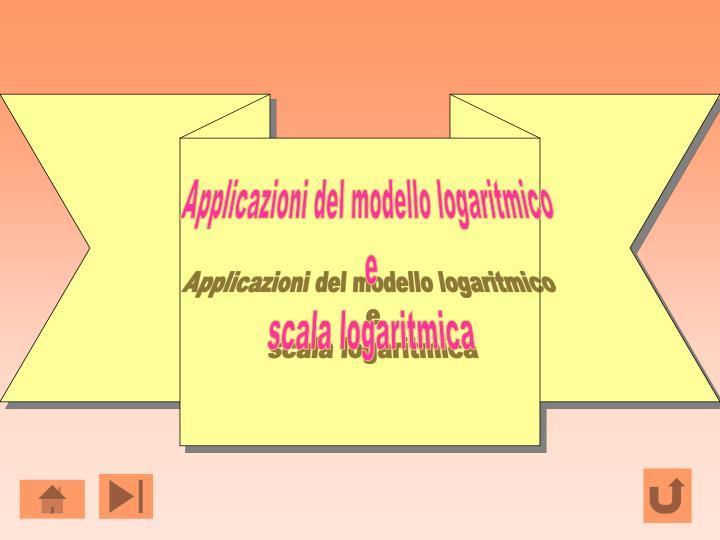 Applicazioni del modello logaritmico