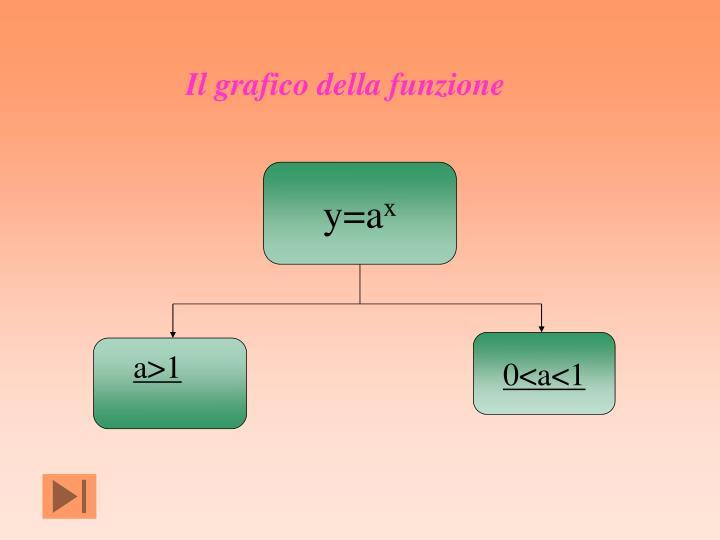 Il grafico della funzione