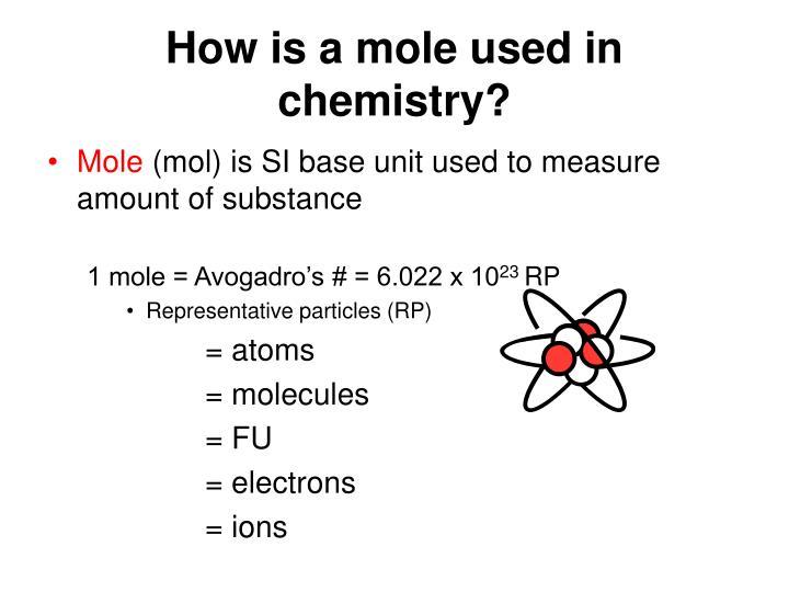 Mole chemistry